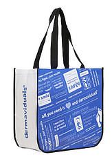 Laminated Non-Woven PP Supermarket Bag - Dermaviduals - from Bag People
